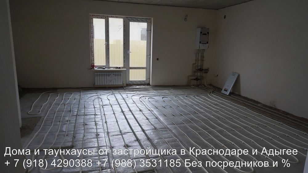 Таунхаус Краснодар с газом и теплым полом