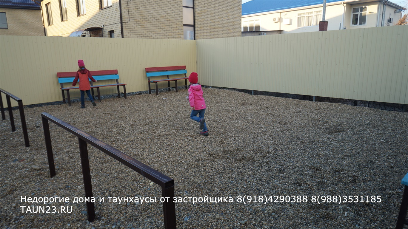 Большой такнхаус в Краснодаре